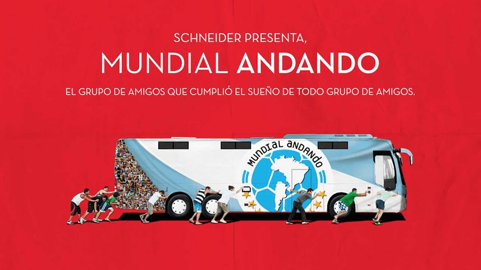 Mundial AndandoCerveza Schneider -