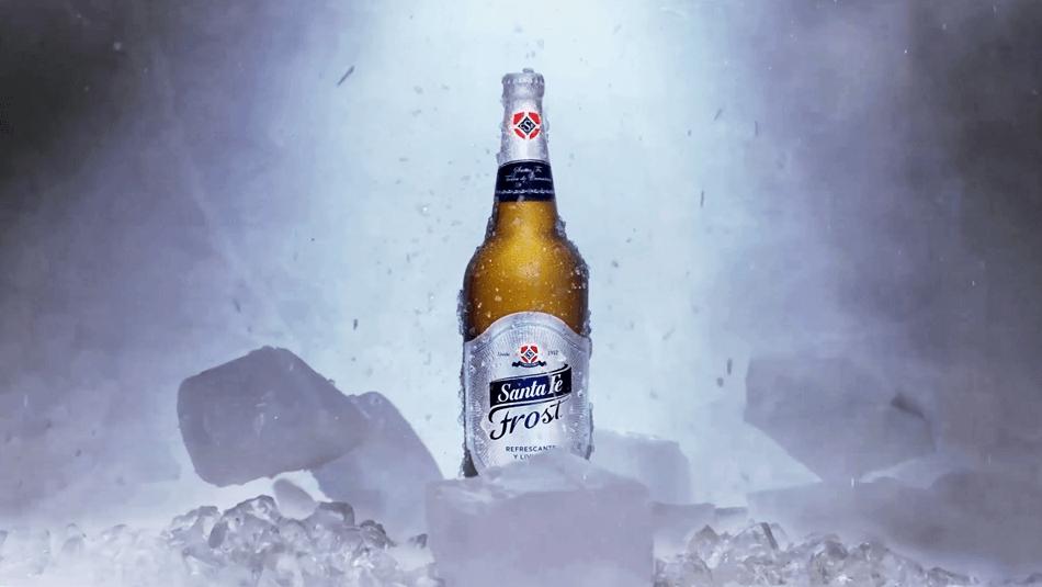 Ola de frío FrostCerveza Santa Fe -