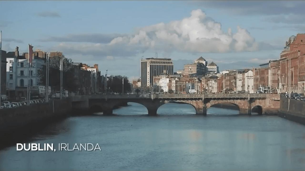 Sebastián Thim en Dublín, Irlanda