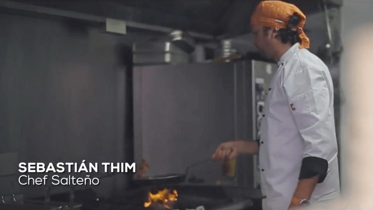Sebastián Thim, chef salteño